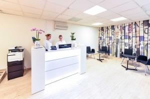 Trevlig tandläkarmottagning i Malmö.